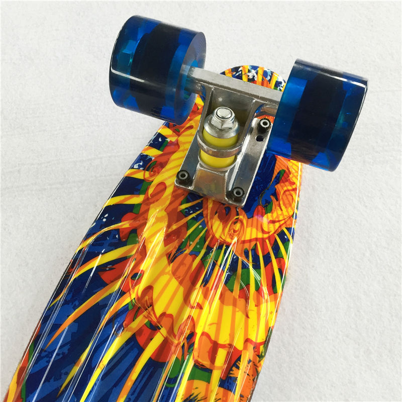 Image 4 - New 22 Inch Good Quality Street board Fish board Or banana board for skater  to Enjoy the skateboarding With Mini rocket board-in Skate Board from Sports & Entertainment