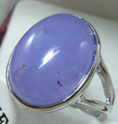 จัดส่งฟรี>>>@@ 0xหยกสีม่วงสวยแหวนขนาด: 7-9สามารถเลือก