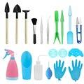 23 шт./компл. суккулентный мини садовый набор инструментов для посадки ковша  Набор садовых бонсай  набор инструментов для полива