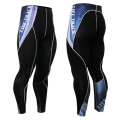 Mens Compression Pants Tights Bodybuilding Pants Keep Slim Breathable Stretch Trousers