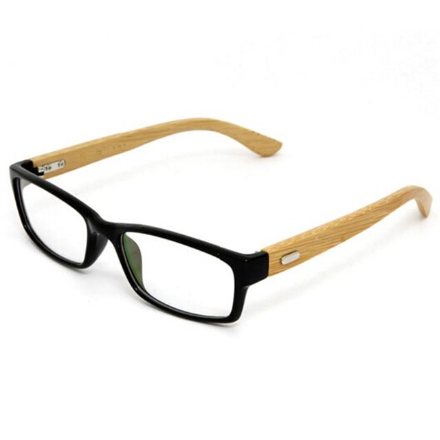 3cbeb1cf7d 100% Handmade Natural Bamboo Eyeglasses Fine Vintage Men Women Glasses Frame  Designer Excellent Eye Glasses