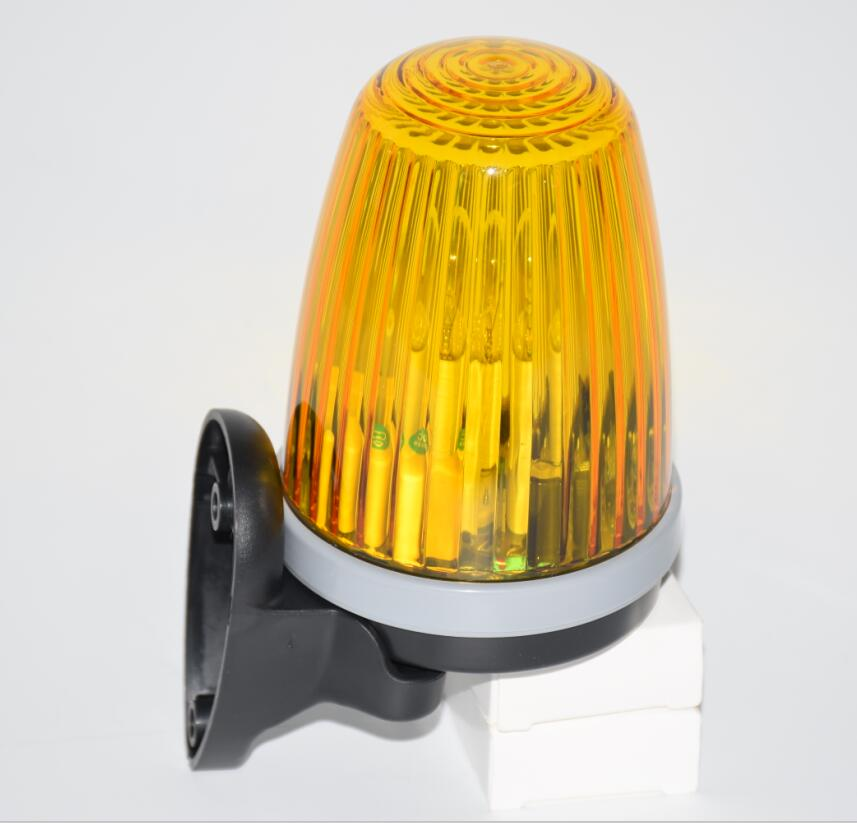 Bulb Flashing Lamp Alarm Light Blinker For Garage Gate Opener Motor