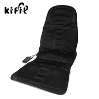 KIFIT New 2 IN 1 Home And Car Massaging Back Massage Seat Pad Neck Massager Chair
