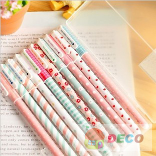 Sweet flower series gel pen for writing,nice gift stationery pen(ss-1088)