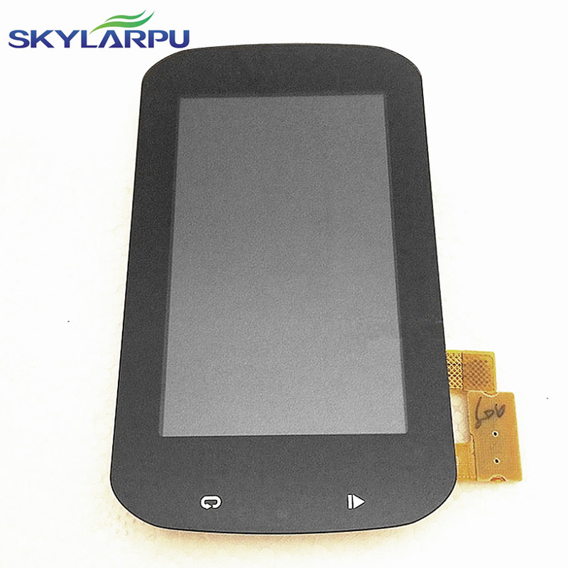 skylarpu 3.0 inch LCD screen for GARMIN Edge Explore1000 bicycle GPS LCD display Screen with Touch screen digitizer replacement skylarpu 2 6 inch tft lcd screen for garmin rino 655 655t gps lcd display screen with touch screen digitizer repair replacement