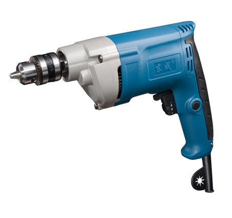 10mm Variable Speed Electric Drill 500w Hand Electric Drill 0-1750rpm 220-240v/50hz Reversable Rotation Function 10mm variable speed electric drill for angle 380w hand drill 90 angle electric drill 0 1400rpm right angle hand electric drill