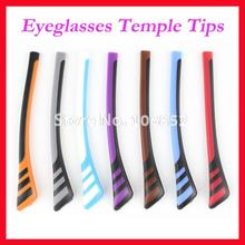 Glasses Optical-Frame Temple-Tips-Accessories Anti-Slip for Temples ET-006 Double-Colors
