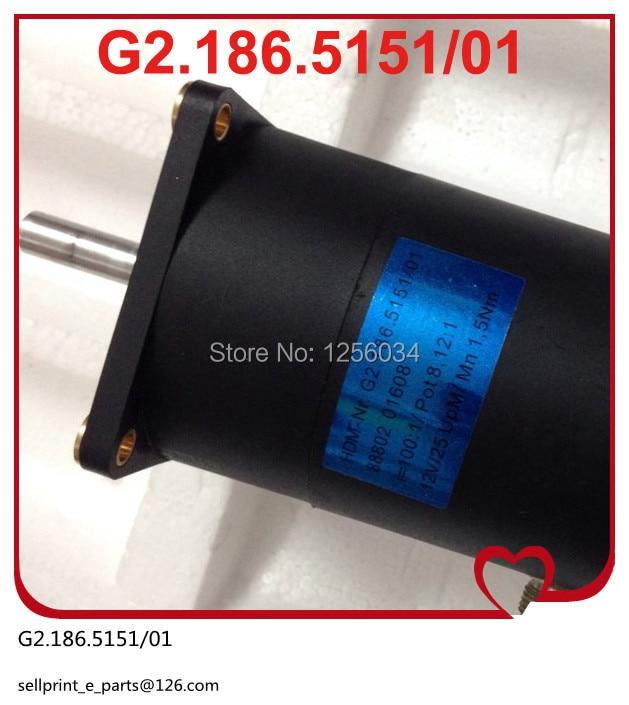 1 piece FREE SHIPPING version motor for heidelberg PM52 SM52 mahcine, motor G2.186.5151/01