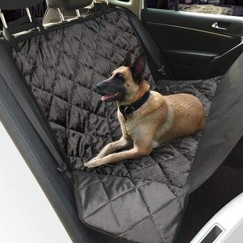 Pet Köpek Araba Arka Tezgah Arka klozet kapağı Mat su geçirmez Hamak tarzı ve arka kapak SUV için evcil hayvan ürünleri köpek aksesuarları