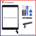 Original Quality Touch Screen For iPad mini 1 2 3 Digitizer Front Display Glass Assembly Replacement With Home Button Adhesive|Tablet LCDs & Panels| |  -