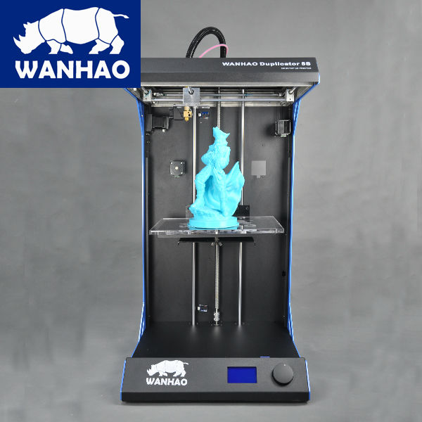 Wanhao top world Duplicator 5s desktop printer with largest printing space 305*205*605mm