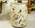 Modern decorativa chinesa fezes tambor de cerâmica para casa e garde decoraton