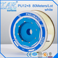 Tube PU Pneumatic Hose 12 *8mm for pneumatics 100meter white pneumatic Hose air tube PU Pipe
