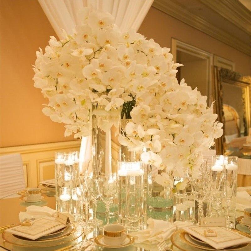 Orchid Flower Arrangements For Weddings: Beautiful 78cm Length Artificial Silk Phalaenopsis