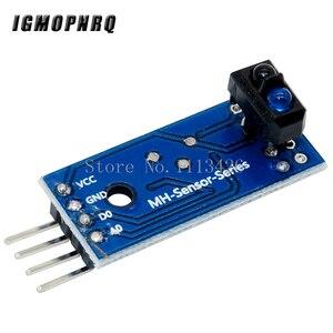 Image 2 - 50 Stks/partij TCRT5000 Infrarood Reflectie Sensor Obstakel Vermijden Module Tracing Sensor Tracing Module