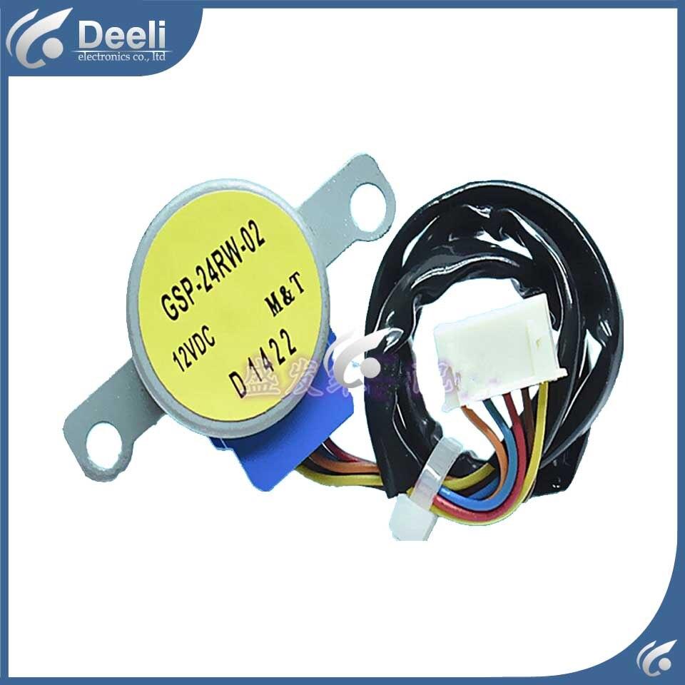 купить 2pcs/lot good working for Air conditioner inner machine motor GSP-24RW-02 Motor fan line 28CM недорого