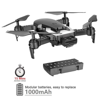 Teeggi M69 FPV Drone 4K with 1080P Wide-angle WiFi Camera HD Foldable RC Mini Quadcopter Helicopter VS VISUO XS809HW E58 X12 1
