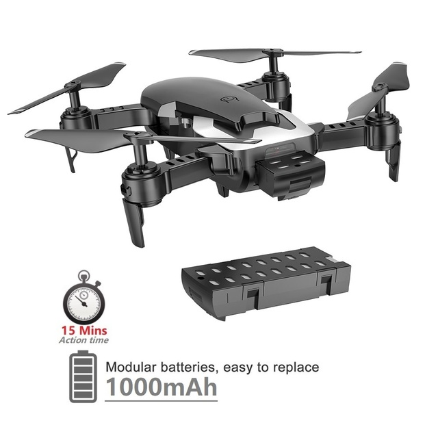 Teeggi M69 FPV Drone 4K with 1080P Wide-angle WiFi Camera HD Foldable RC Mini Quadcopter Helicopter VS VISUO XS809HW E58 X12 1