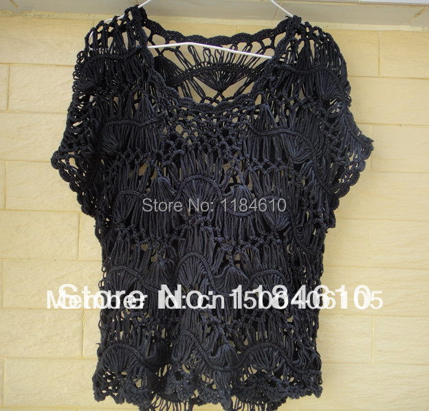 aa61bb1513 Black Strip Lace Blouse Sheer Top Hairpin Crochet Pattern Blusas  Femininas-in Blouses & Shirts from Women's Clothing on Aliexpress.com |  Alibaba Group