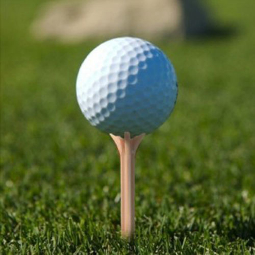 100Pcs/lot Wholesale Plastic Golf Ball Wood Tee Tees Professional Frictionless Golf Tee Wheat Golf Teeswooden tees golf teeswooden golf tees - AliExpress