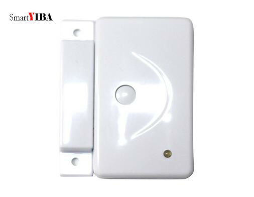 SmartYIBA 433Mhz Wireless Door Window Sensor Door Open Detection Alarm Door Magnetic Sensor Door Gap Sensor For Alarm System smartyiba 433mhz wireless door window sensor door open detection alarm door magnetic sensor door gap sensor for alarm system
