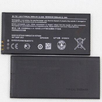 10pcs/lot 3000mAh/11.6Wh 3.8V BV-T5E Replacement Battery For Microsoft Lumia 950 RM-1106 RM-1104 RM-110 McLa Mobile bateria