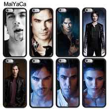 MaiYaCa Ian Somerhalder The Vampire Diaries Case For iphone 11 Pro MAX X XR XS M