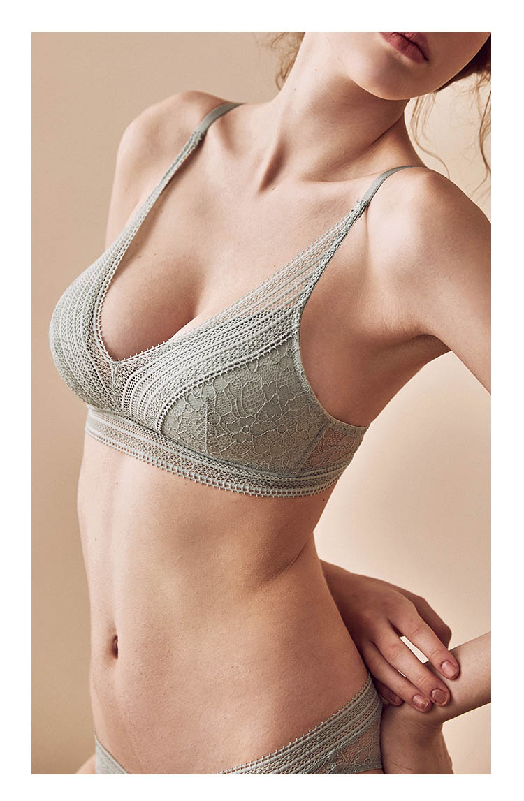 Push up Bra and Panty set 3/4 cup