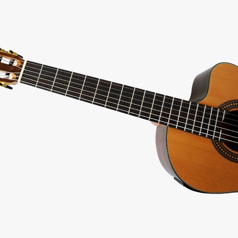 b0413264b5b New Vintage Design Cutway Shape Solid Top Electrical Classical Guitar  SC02ARCE free hard guitar case-in Guitar from Sports & Entertainment on  Aliexpress.com ...