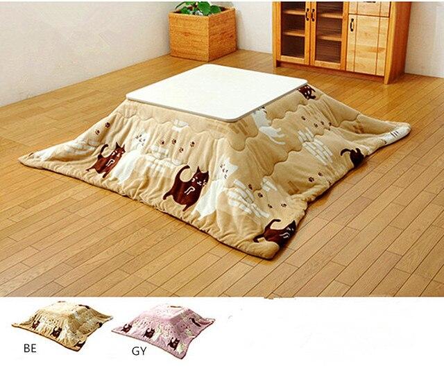 2pcs/set Washable Kotatsu Futon&Mattress 190x190cm/190x240cm Patchwork Cotton Soft Friendly Quilt Japanese Kotatsu Table Cover