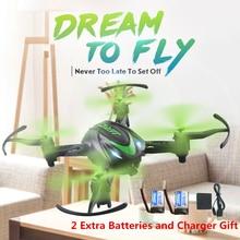 JJRC H48 мини Drone 6 Ось RC Quadcopter двойной режим зарядки дроны Вертолет VS JJRC H36 Дрон лучшие Крытый игрушки для детей