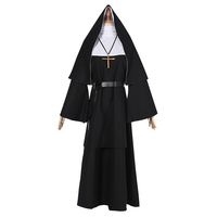 The Nun The Conjuring 2 Nun Outfit Clothing Gothic Horror Film Halloween Cosplay Costume