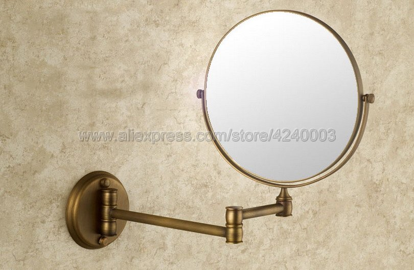 Bath Mirrors 3 x Magnifying Mirror of Bathroom Makeup Mirror Folding Shave 8