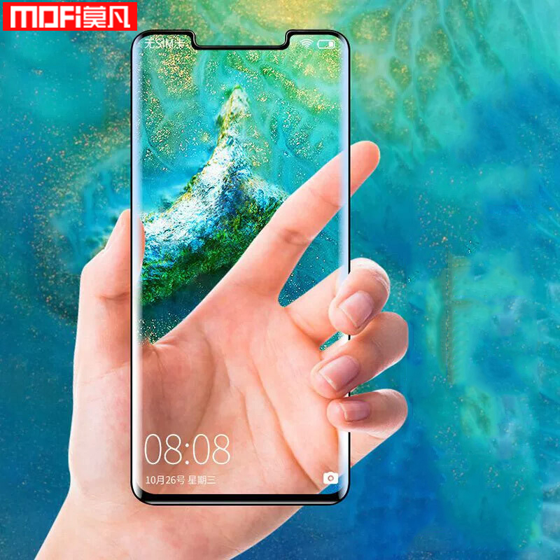 For <font><b>Huawei</b></font> <font><b>Mate</b></font> <font><b>20</b></font> <font><b>Pro</b></font> screen protector For <font><b>Huawei</b></font> <font><b>Mate</b></font> <font><b>20</b></font> Lite tempered <font><b>glass</b></font> Mate20 film full cover original Mofi 5D curved 9H image
