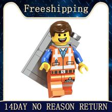 Legoingly Movie Figure Single Sale Bad Cop Emmet Wyldstyle Sheriff Robo SWAT Vitruvius Building Blocks Model Bricks Toy L1009(China)