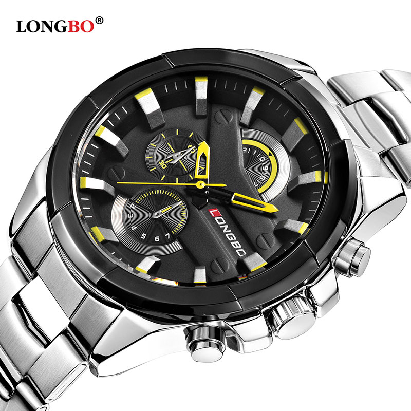 2018 Business Quartz Watch Men Watches Top Brand Luxury Stainless Steel Wrist Watch Male Clock for Men Hodinky Relogio Masculino watches men luxury brand chronograph quartz watch stainless steel mens wristwatches relogio masculino clock male hodinky