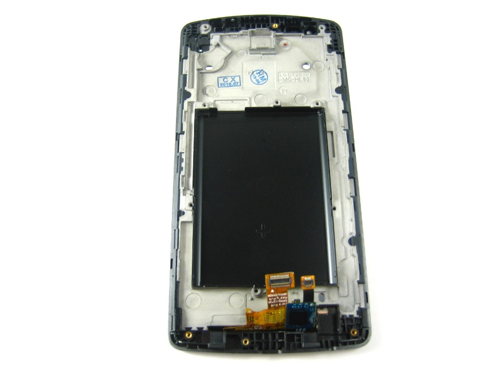Replacement Full LCD Display + Touch Screen Digitizer + Frame for LG G3 S D722 Black/ White  replacement full lcd display touch screen digitizer for lg leon 4g lte h340 h340n black