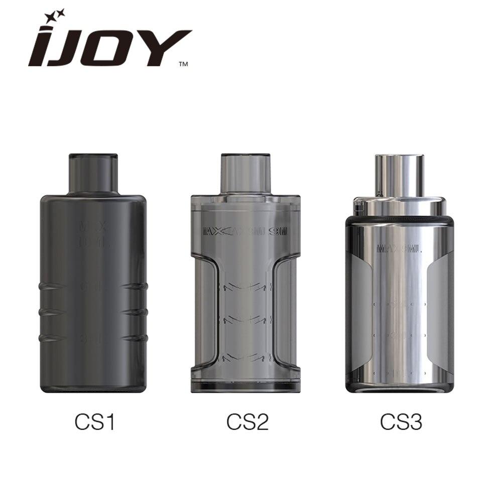 Originale IJOY CAPO Squonk Bottiglia 9 ml enorme capacità fatto da materiale del silicone di alta qualità con la SS per il CAPO squonker MOD