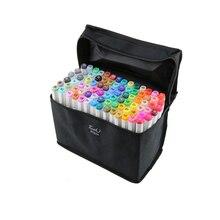 80 Color Multi SET TOUCHNEW 6 Alcohol Graphic Art Twin Tip Pen Marker