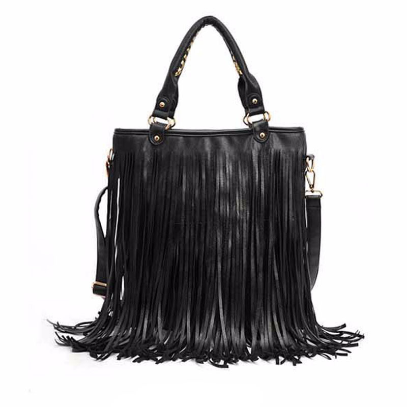 df411019b419 Лидер продаж! 2018 женские сумки старинные кисточкой моды одно плечо сумка  Женщины сумки бесплатная доставка
