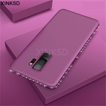 Bling Diamond Case For Samsung galaxy A8 A6 S8 S9 Plus 2018 S7 Edge J5 J7 Prime A5 A3 A7 J3 J5 J7 2017 2016 Case Soft Back Cover