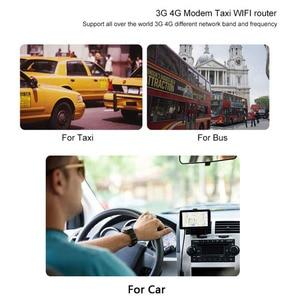 Image 4 - Roteador wi fi do carro com slot para cartão sim para o ônibus que viaja 300 mbps 64 mb lte gsm 4g wifi dispositivo roteador sem fio