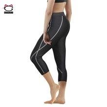 Gotoly/женские трусы с эффектом пота и управления сауной, горячая термо-неопреновое утягивающее белье, фитнес-брюки для похудения, Корректирующее белье для талии