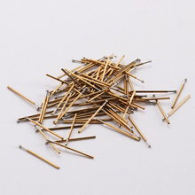 Hot Sale 100 / Package Metal Probe P50-E0.9 Nickel Plated Length 16.55mm Spring Test Probe For Testing Tools 2018 lson pm50 e2 0 9mm testing probe pins w cables golden multicolored 100 pcs