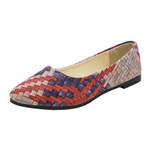 New Women Suede Flats Fashion High Quality Basic Mixed Colors Pointy Toe Ballerina Female Pretty Flat Slip On Shoes