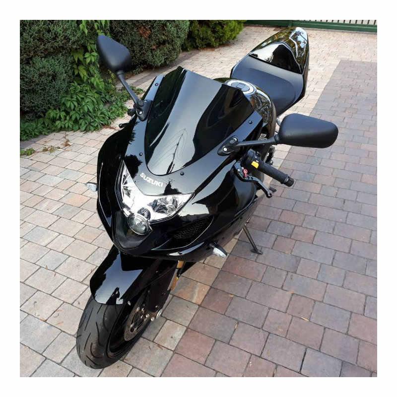 2006 SZMYLED Motorrad-Windschutzscheiben-Spoiler f/ür Suzuki GSXR 1000 K5 2005