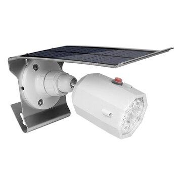 Wasserdichte Solar-LED-Licht Outdoor PIR Motion Sensor Wand Licht 3 Modi Solar Lampe Simulierten Kamera Scheinwerfer Energie Spar Lampe