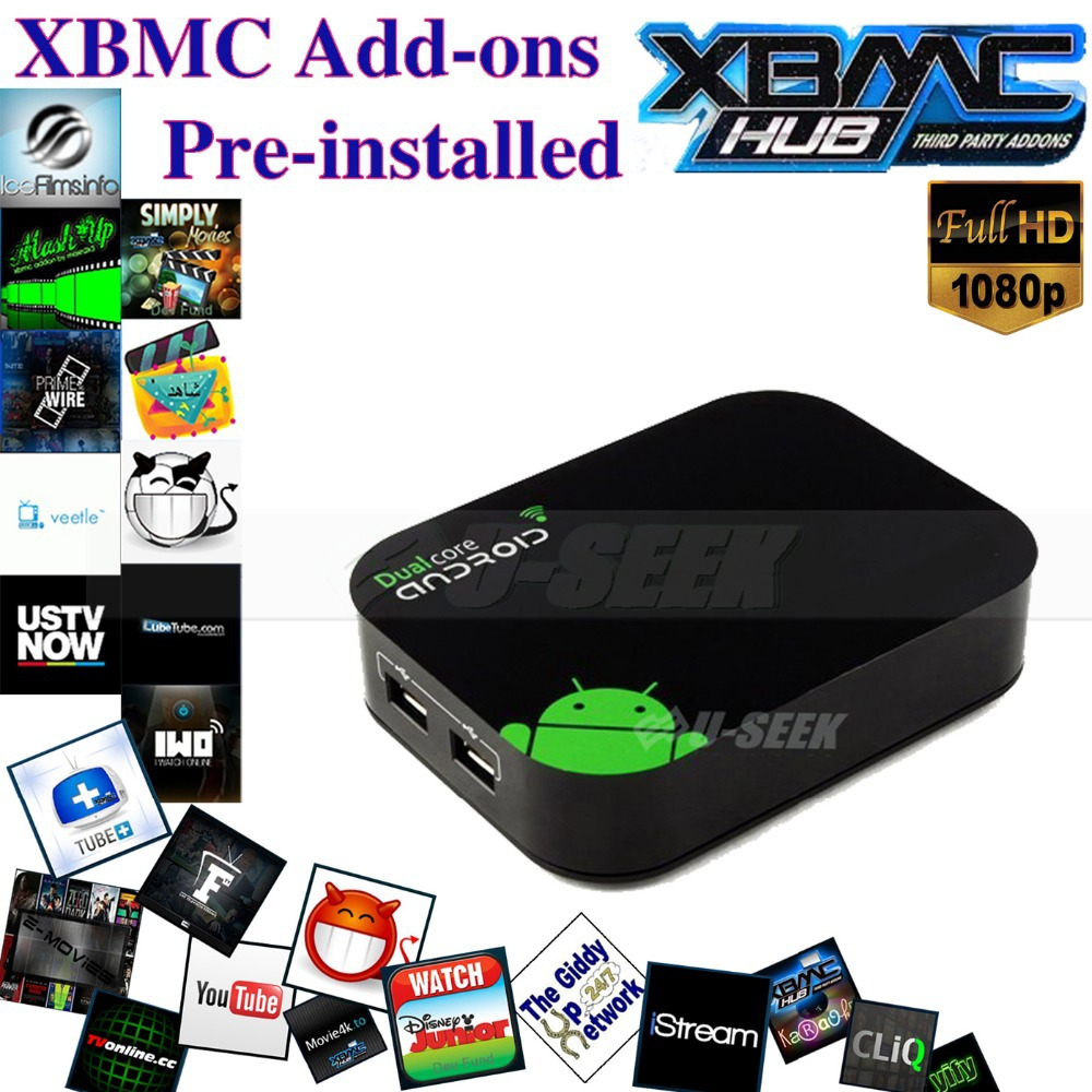 Dual Core 1G/4G Full HD 1080P Porn Video Android TV Box with