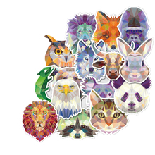 Pvc Stickers 35Pcs/lot Animal Abstraction Style