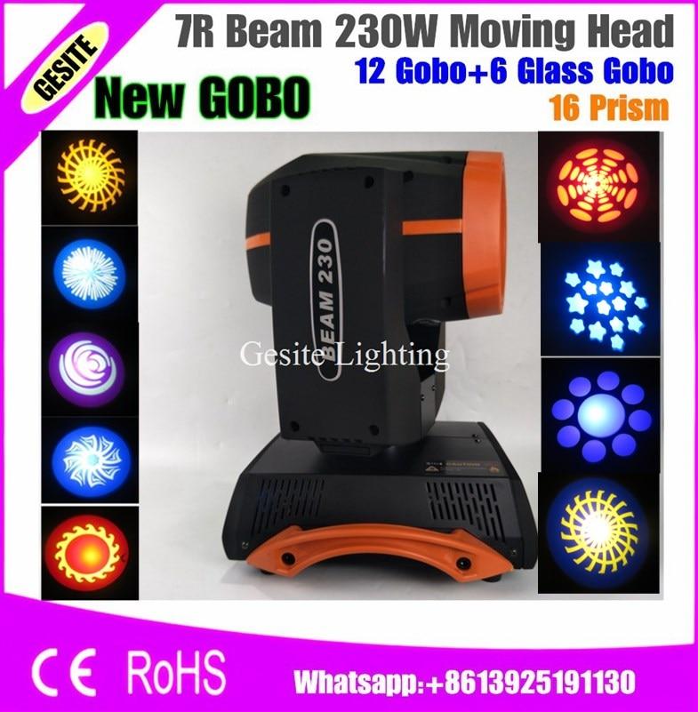 Sharpy 230W Moving Head Light/ 230 Beam 7R Disco Lights for DJ Club Nightclub 8x sharpy light beam 230w 7r zoom moving head light dj equipments lightings